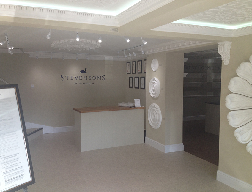 Stevensons Showroom, Norwich